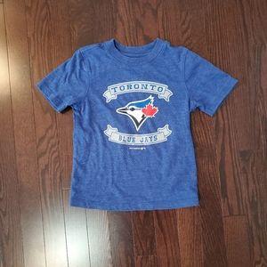 ✅ Boys Toronto Blue Jays t-shirt size 5